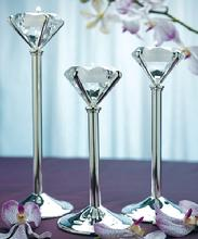Tall Diamond Shaped Tealight Holders