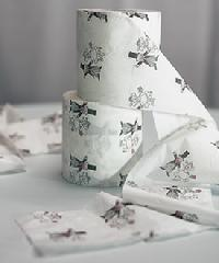 7064 Bride and Groom Toilet Paper