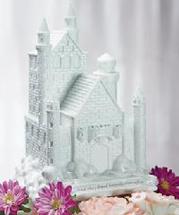Happily Ever After Castle Cake Topper