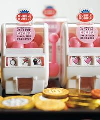 8558-Mini Wedding Theme Slot Machine Favour $3.48 each