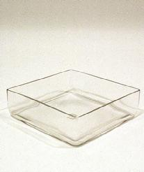 Low Square Vases
