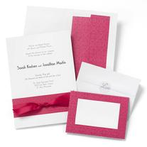 Fuchsia Band Invitation Kit