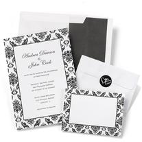 Damask Border Invitation Kit