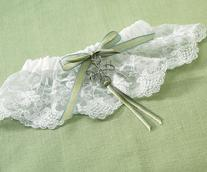 1350 Celtic Charm Bridal Garter