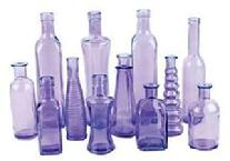 Purple Vintage Bottles