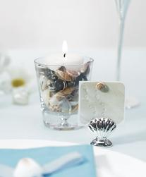 6076 Shell Place Card Holder