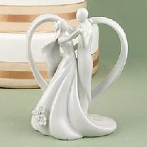 Heart Arch Dancing Cake Topper