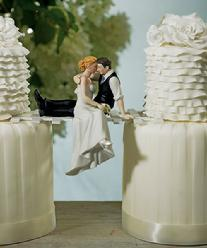9211 Look of Love Cake Topper