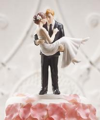 9353 Swept Up in His Arms Cake Topper