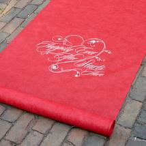 30051 Red Happily Ever After Aisle Runner