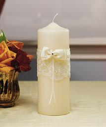5009 French Lace Unity Candle