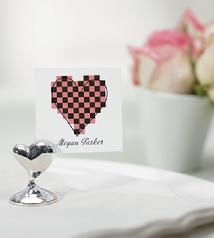 6073 Swish Heart Place Card Holder