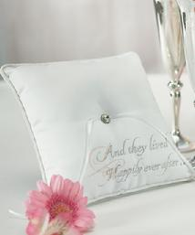 7166 Fairytale Dreams Ring Pillow