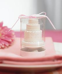 8531 Wedding Cake Candle Favour