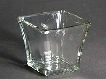 3 Inch Flared Square Votive Holder