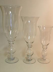 """Sloane"" Tall Footed Vases"