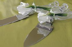 Calla Lily Cake Knife Set