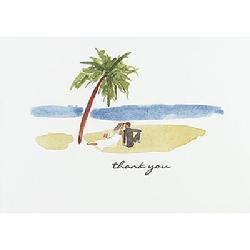 54124 Paradise Thank You Cards