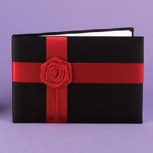 10904 Midnight Rose Guest Book