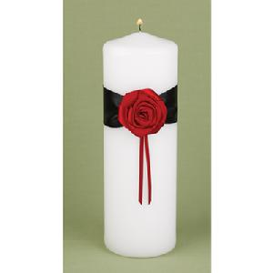 10909 Midnight Rose Unity Candle