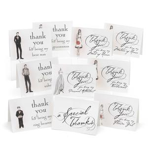 Bridal Party Thank You Card Set