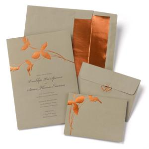 Copper Branches Invitation Kit