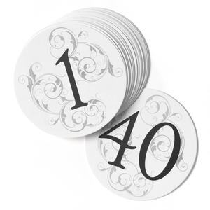 30346 Filigree Table Number Cards