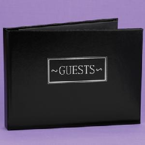 38923 Black All Occasion Guest Book