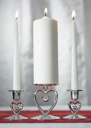 7007 Heart to Heart Unity Candle Stand