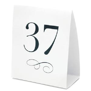Tent Style Table Numbers