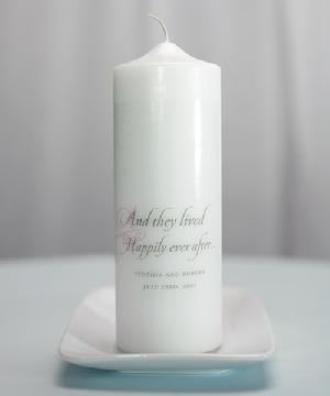7204 Happily Ever After Unity Candle