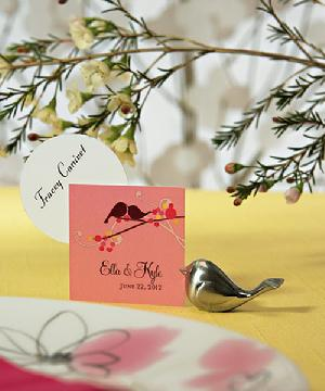 9023 Love Bird Place Card Holder