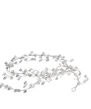 9198 Crystal and Silver Wire Garland