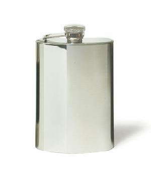 9341 Two Tone Stainless Steel Flask