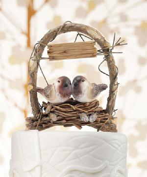 9386 Love Nest Cake Topper